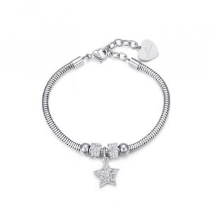 Bracciale donna Luca Barra con stella