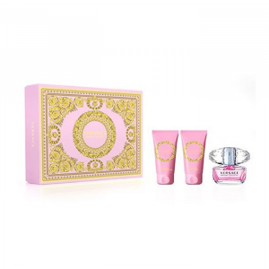 Versace Bright Crystal Eau De Toilette Spray 50ml Set 3 Parti 2020