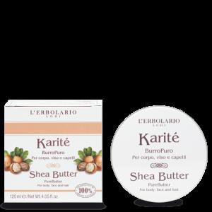 Karité Burro Puro per corpo, viso e capelli 120 ml