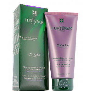 Rene Furterer Okara Silver shampoo anti-ingiallimento Capelli grigi, bianchi e biondo platino