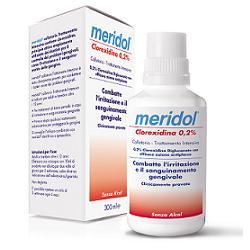 Meridol collutorio 300ml clorexidina 0,2%