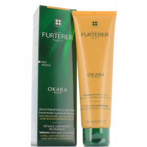 Rene Furterer Okara Blond balsamo districante luminosità Capelli con mèches, colpi di sole, decolorati