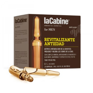 La Cabine For Men Fiale Rivitalizzanti Antietà 10x2ml