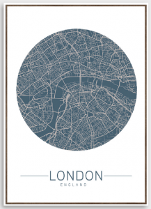 Tela London map