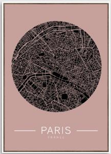 Tela Paris map