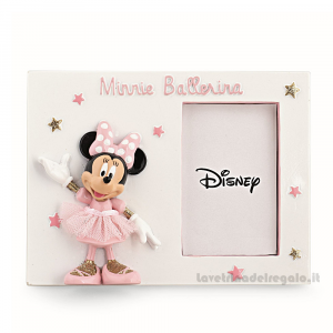 Portafoto Minnie ballerina Disney 15x11 cm - Bomboniera bimba