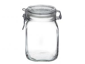 Bormioli barattolo vetro con guarnizione Fido 1lt