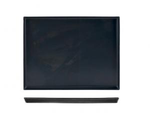 Teglia per forno in ferro blu cm45x35