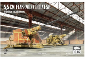 5,5cm Flak (VG2) Gerät 58 Autom. Flugabwehrkanone