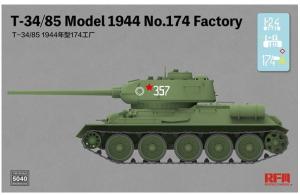 T-34/85 Model 1944 No 174 Factory