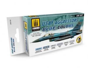 USAF AGGRESSORS BLUE COLORS