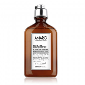 Farmavita Amaro All In One Daily Shampoo N1924 Hair-Beard-Body 250ml