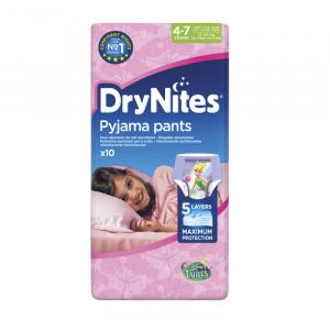Drynites Pyjama Pants Mutandine Assorbenti Per La Notte 4-7 Anni 10 Unità