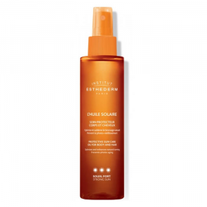 Institut Esthederm Suncare Oil Body And Hair Strong Sun 150ml