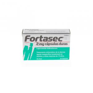 Fortasec 2mg 20 Comprimidos