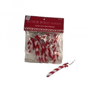 Bastoncini in busta decorazione Natale chiudipacco