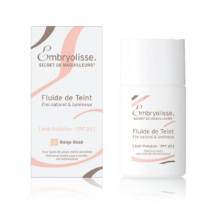 Embryolisse Fluid De Teint Spf20 02 Beige Rosé