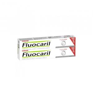 Fluocaril Bi-Fluorinated Whiteness Toothpaste 2 x 75ml