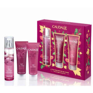 Caudalie The Des Vignes Eau Fraîche Spray 50ml Set 3 Parti