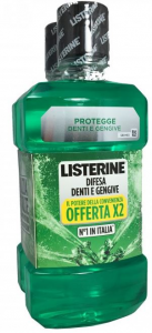 Listerine difesa denti e gengive collutorio 1+1