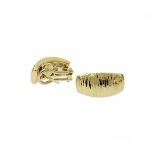 Orecchini Oro 18kt  Diamantato Prestige