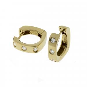 Orecchini Oro 18kt   Prestige con Diamanti