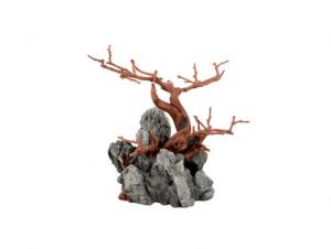 Wood Rock Brown  20cm x 12cm x 19cm ASKOLL