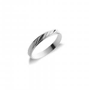 Fede Oro 18kt  Diamantato gr. 1,8
