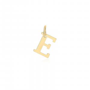 Ciondolo Oro 18kt  Lettera E