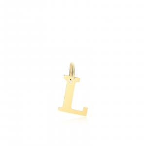 Ciondolo Oro 18kt  Lettera L