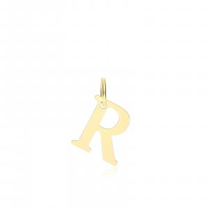 Ciondolo Oro 18kt  Lettera R