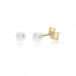 Orecchini Oro Donna con Perla