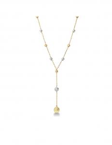 Collana Oro Sfere Diamantate