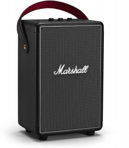 Marshall Tufton black altoparlante bluetooth portatile 80W