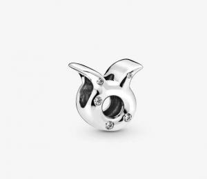 Charm dello zodiaco Toro scintillante
