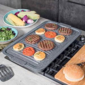 Tognana - Barbecue Grill Rettangolare Alluminio Grigio