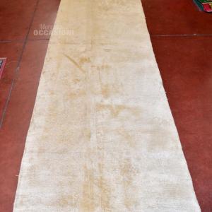 Tappeto Corsia Beige 330x100 Cm