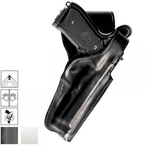 Fondina in cuoio da cintura e sgancio rapido per Beretta 92/98, Taurus PT 92, CZ 75