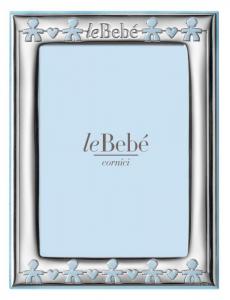 LeBebé Cornice Linea Classica - Celeste, piccola 9x13