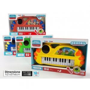 General Trade Pianola Baby Animali Try Me Musica Preimpostata e Suoni In Vari Colori Giocattolo