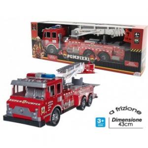 General Trade Super Set Pompieri Camion Rosso Per Pompiere A Frizione
