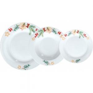 Tognana Olimpia Gift Servizio Piatti da Tavolo 18 Pezzi in Porcellana