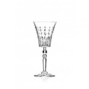 Rcr Marilyn Confezione Set di 6 Calici Da Vino Eleganti Sublime Calice Decorato Cristalleria Italiana