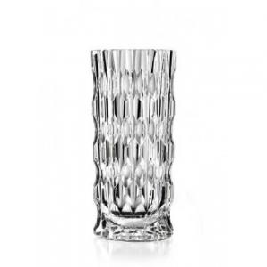 RCR Vaso per Fiori Joker 28 cm Trasparente Ricamato ed Elegante TOP QUALITY Decorativo Per Casa