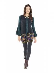 Abito corto invernale | Abbigliamento etnico donna online