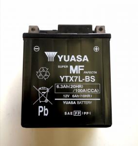 BATTERIA YUASA YTX 7L-BS SIGILLATA PREATTIVATA