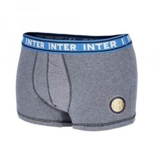 Boxer Inter taglia S grigio