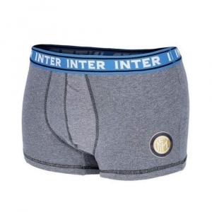 Boxer Inter taglia 12 anni grigio