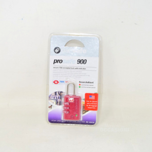 Lucchetto Prosafe900 Red New