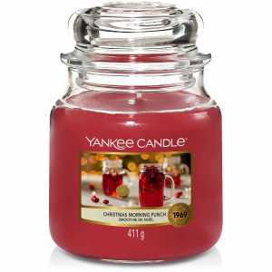 Candela Yankee Candle giara media Christmas Morning Punch